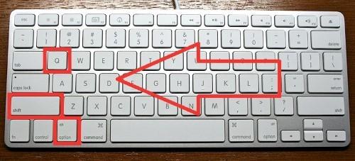 Anführungszeichen Unten Mac