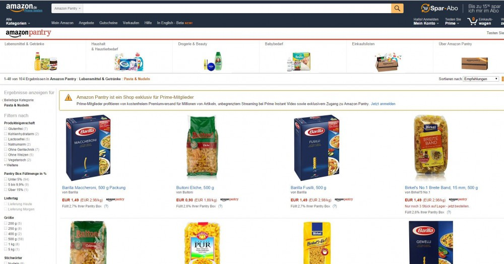 Food order at Amazon - how it works