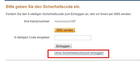 Paypal Code Sms