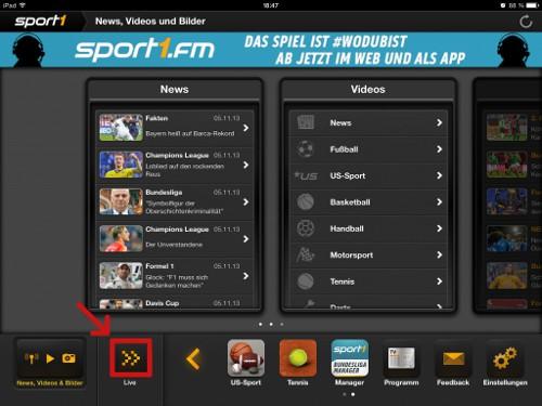Sport1 Online Stream
