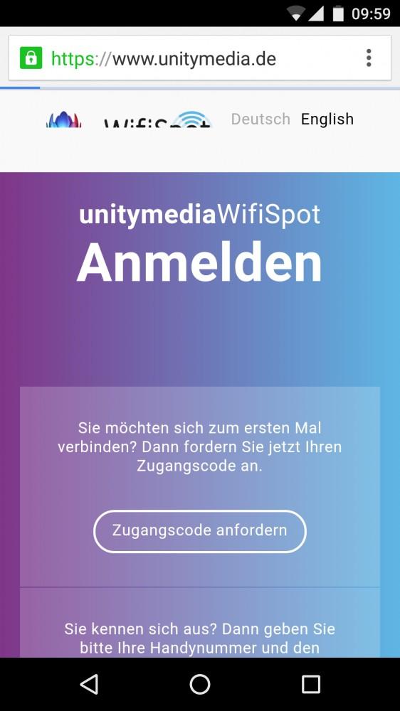 Wlan Hotspot Unitymedia