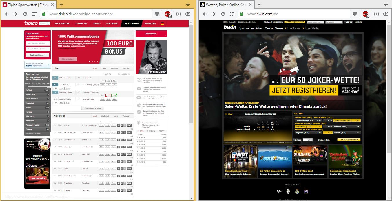Compare sports betting websites players championship golf betting odds